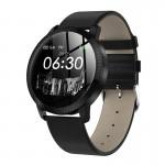 Ceas Smartwatch SUPER PREMIUM cu ecran color Negru Karen SWCF18